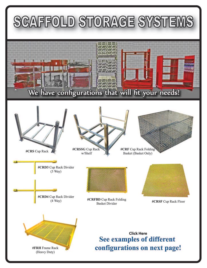 scaffold storage racks